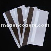 silver magnetic stripe cards, pvc cards, blank credit cards, silver cards